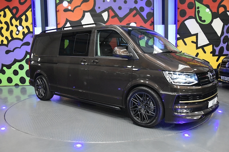 VW TRANSPORTER T6 T32 LWB 2.0BITDI 204PS DSG 4MOTION KOMBI HIGHLINE LV SPORTLINE PACK ABT FRONT END