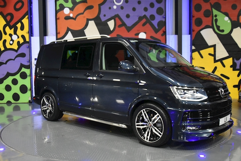 VW TRANSPORTER T6 T32 SWB 2.0BITDI 204PS DSG KOMBI HIGHLINE 4MOTION LV PACK ABT FRONT