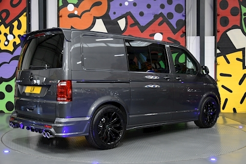 VW Transporter T6 T32 2.0BTDI SWB HIGHLINE KOMBI 199 DSG 4 MOTION L/V SPORTLINE PACK WITH FULL CARLEX STYLING