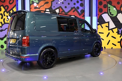 VW TRANSPORTER T6 T32 SWB 2.0BITDI 204PS DSG KOMBI HIGHLINE SPORTLINE PACK