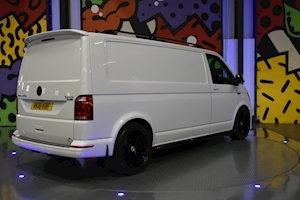 VW TRANSPORTER T6 T32 LWB 2.0 BITDI 204 PS DSG 4MOTION PANEL VAN LV SPORTLINE PACK ABT FRONT STYLING