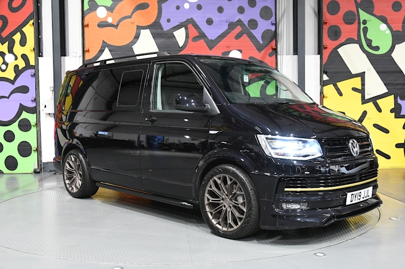 Volkswagen Transporter T6 T32 SWB 2.0BITDI 204PS DSG HIGHLINE KOMBI CONVERSION ABT PACK