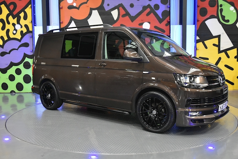 Volkswagen Transporter T6 T32 SWB 2.0TDI 150PS MANUAL HIGHLINE KOMBI LV SPORTLINE PACK