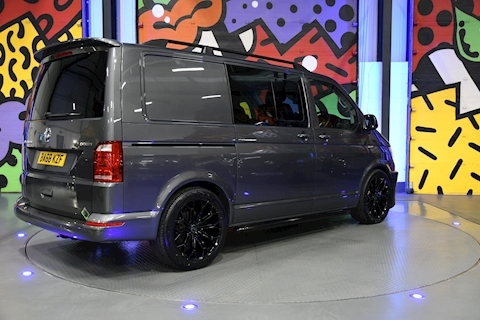 VW TRANSPORTER T6 T32 SWB 2.0BITDI 204PS DSG 4MOTION KOMBI HIGHLINE SPORTLINE PACK ABT FRONT
