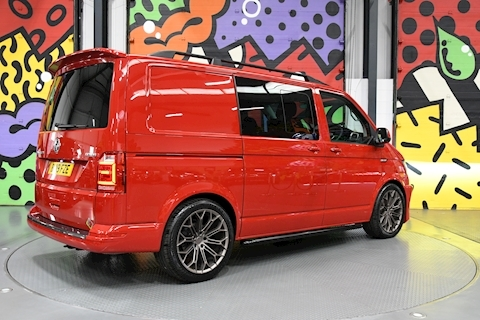 VW Transporter T6 T32 2.0BITdi SWB Kombi Highline 4Motion 204 DSG L/V SPORTLINE PACK GENUINE ABT FRONT STYLING