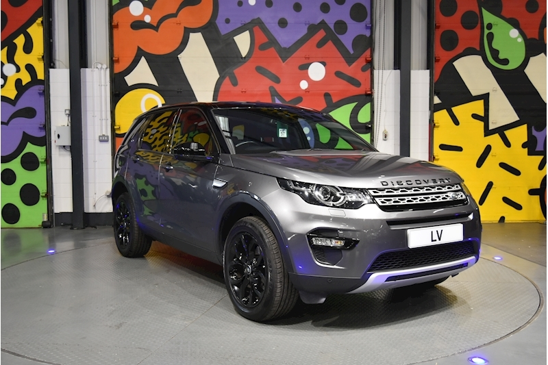 Land Rover Discovery Sport Sport Black Pack Styling 2.0 TD4 Manual (180PS)