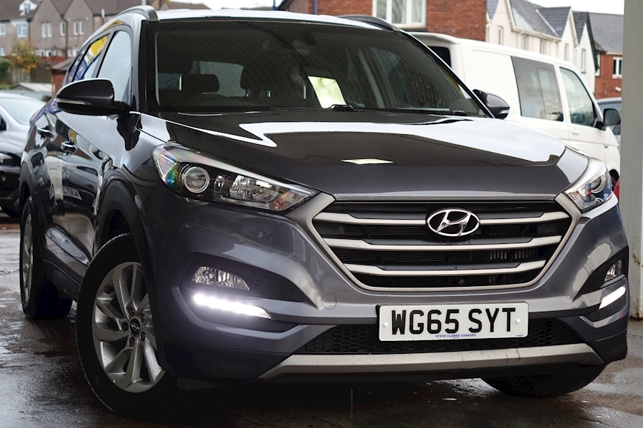 Tucson 2.0 Crdi Se Nav AWD 182bhp 2.0 5dr Estate Automatic Diesel For Sale in Exeter
