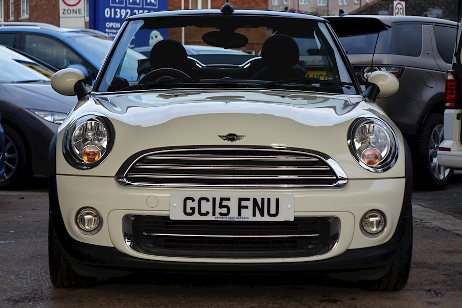 Mini Cooper (Chili Pack) 1.6 2dr Convertible Manual Petrol For Sale in Exeter