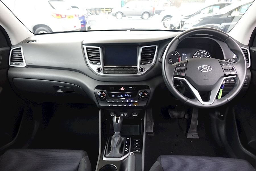 Tucson Crdi Se Nav AWD Auto 2.0 5dr Estate Automatic Diesel For Sale in Exeter