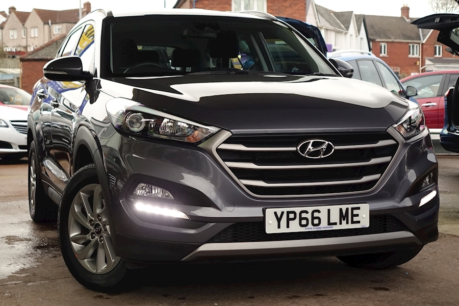 Tucson Gdi Se Blue Drive Estate 1.6 Manual Petrol For Sale in Exeter
