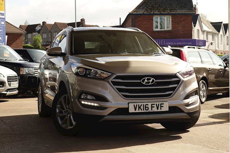Tucson 2.0 Crdi Se Nav 4WD [185bhp] 2.0 5dr Estate Automatic Diesel For Sale in Exeter