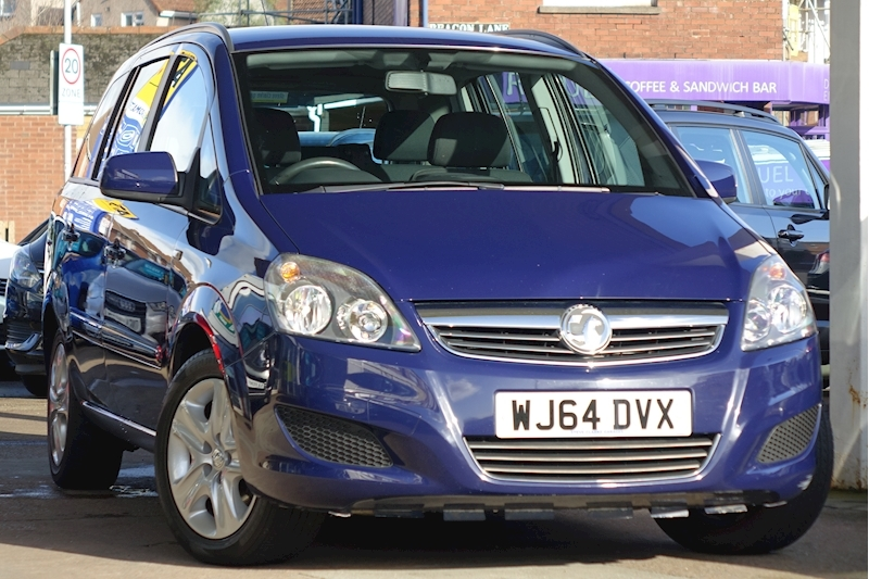 Zafira Exclusiv Mpv 1.8 Manual Petrol For Sale in Exeter