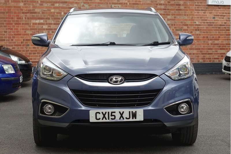 Ix35 Gdi Se Blue Drive Estate 1.6 Manual Petrol For Sale in Exeter