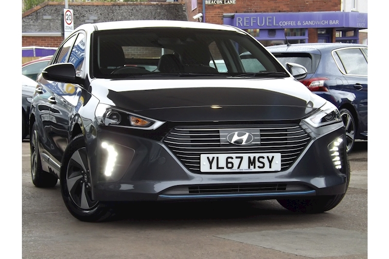 Ioniq Premium Hatchback 1.6 Semi Auto Petrol/Electric For Sale in Exeter