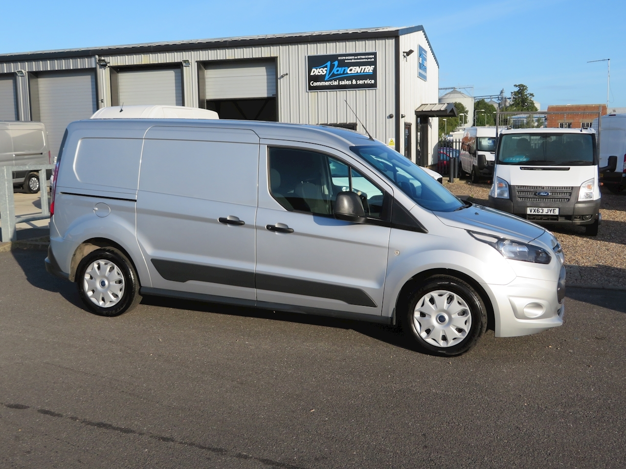 Transit Connect L2 230 Trend Double Cab In Van 1.6 Panel Van Manual Diesel