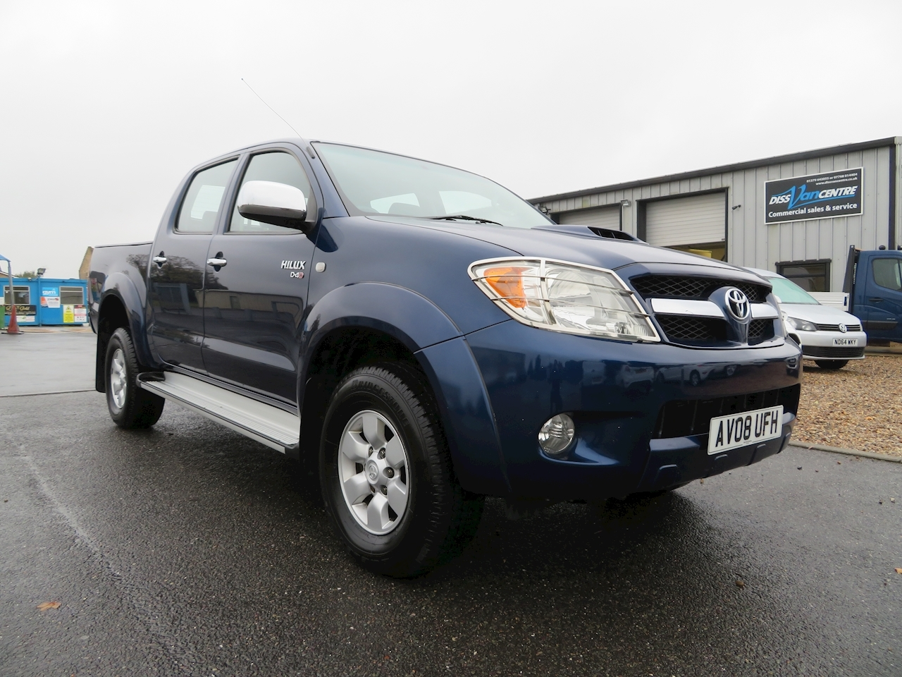Hilux 4X4 D-4D Dcp Light 4X4 Utility 2.5 Manual Diesel