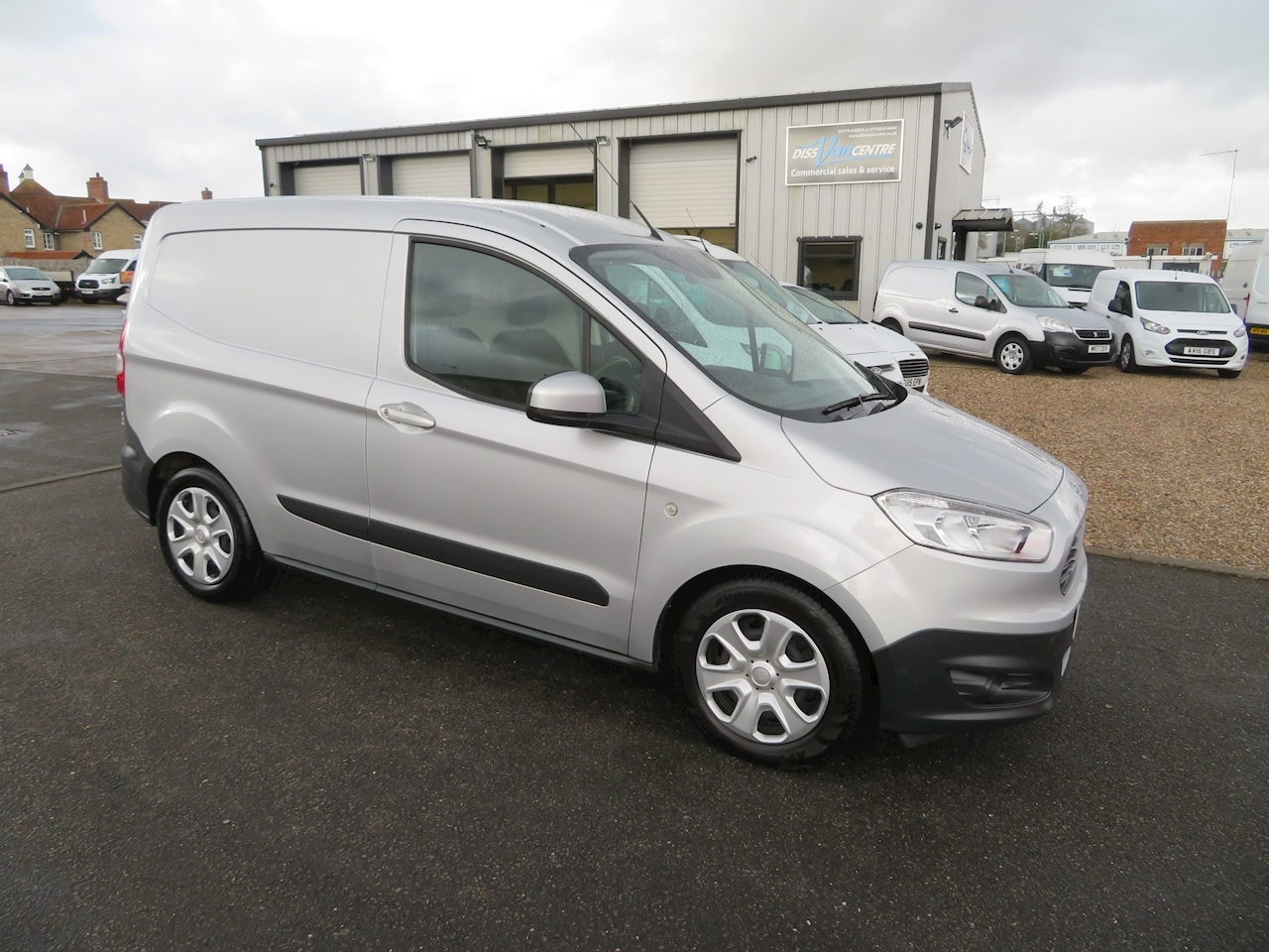 Transit Courier Trend Tdci Panel Van 1.5 Manual Diesel