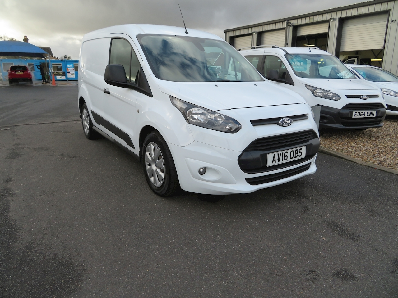 Transit Connect 200 Trend P/V Panel Van 1.6 Manual Diesel