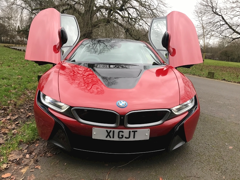 I8 1.5 Protonic Red Edition 2017(17) 1.5 2dr Coupe Automatic Petrol/Electric