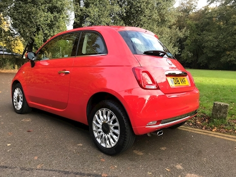 500 1.2 69hp Lounge 2018(18) 3dr Hatchback Manual Petrol