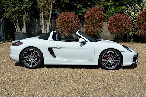 Boxster Gts Convertible 3.4 Manual Petrol