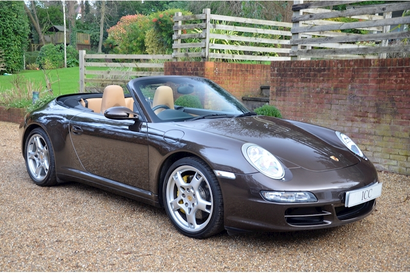 3.8 997 Carrera 4S Cabriolet 2dr Petrol Tiptronic S AWD (286 g/km, 350 bhp)
