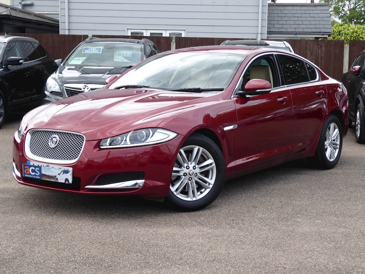 Used Jaguar Xf D Luxury | Abberton Car Sales - Mersea Road