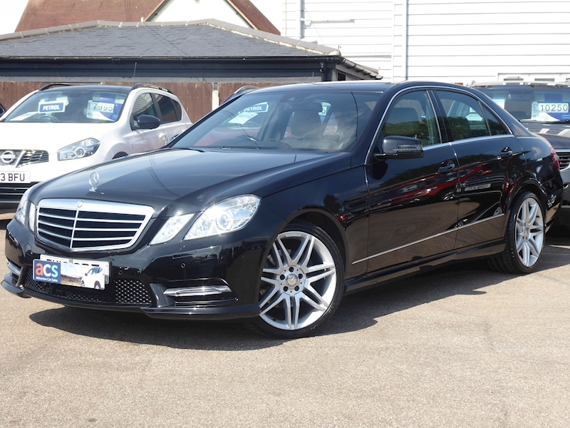 E Class E220 Cdi Blueefficiency S/S Sport Saloon 2.1 Automatic Diesel