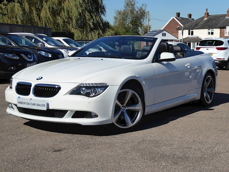 6 Series 635D Sport Convertible 3.0 Automatic Diesel
