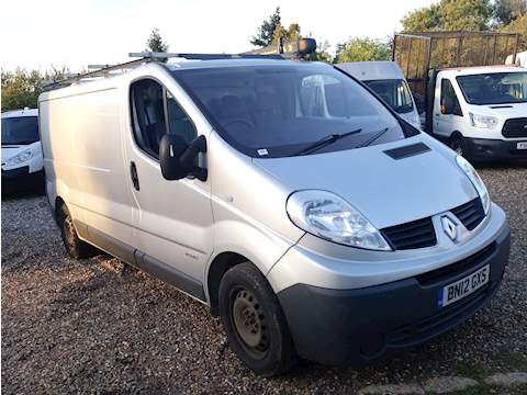 Trafic Ll29 Dci S/R P/V Panel Van 2.0 Manual Diesel