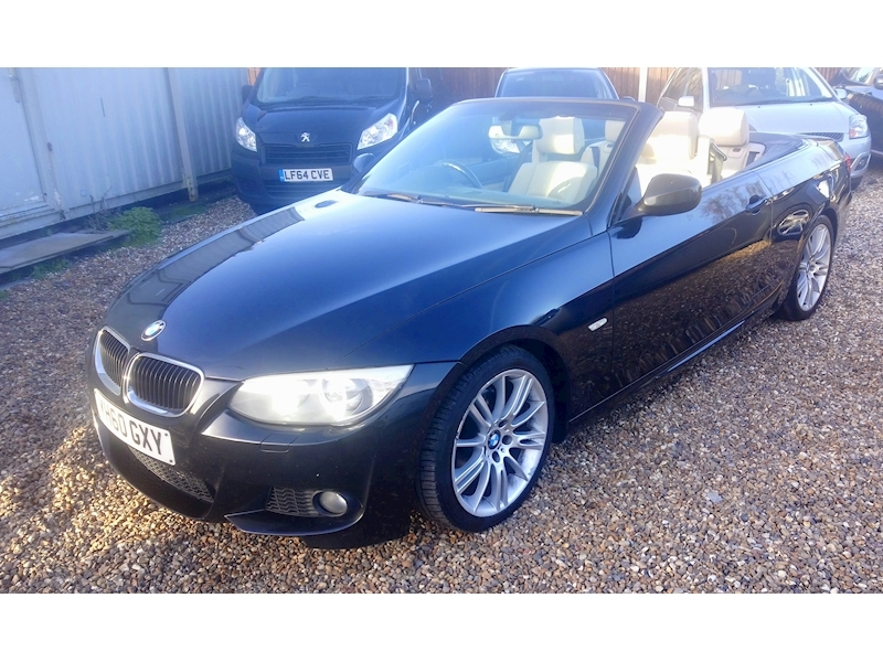 3 Series 320D M Sport Convertible 2.0 Manual Diesel