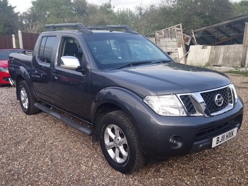Navara Dci Tekna 4X4 Dcb Pick-Up 2.5 Automatic Diesel