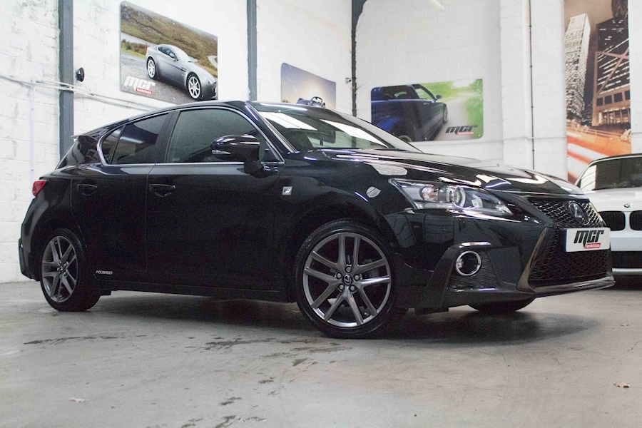 Ct Ct 200H F Sport Cvt Hatchback 1.8 Cvt Petrol/Electric