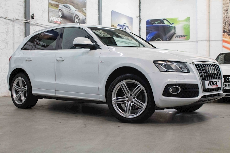 Q5 Tdi Quattro S Line Plus Estate 2.0 Manual Diesel