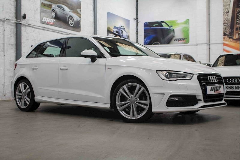 A3 Tdi S Line Nav Hatchback 1.6 Manual Diesel