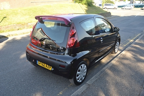 107 Active 1.0 3dr Hatchback Manual Petrol