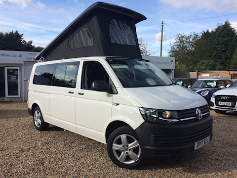 Volkswagen Transporter T32 Tdi Campervan 2.0 Campervan With Side Windows Semi Auto Diesel