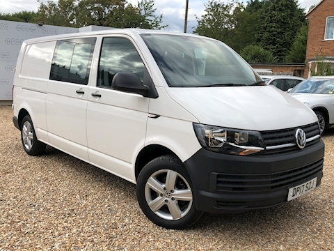Volkswagen Transporter T32 Tdi Kombi Startline Bmt Van With Side Windows 2.0 Semi Auto Diesel