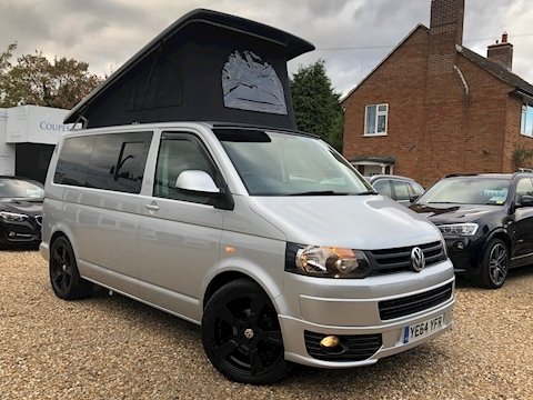 Volkswagen Campervan T32 Tdi P/V Highline Campervan 2.0 Camper Van With Side Windows Manual Diesel