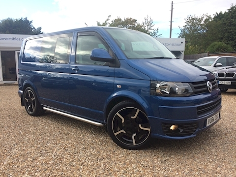 Volkswagen Transporter T32 Tdi Kombi Highline Van With Side Windows 2.0 Manual Diesel