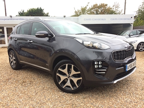 Kia Sportage Crdi Gt-Line Estate 2.0 Manual Diesel