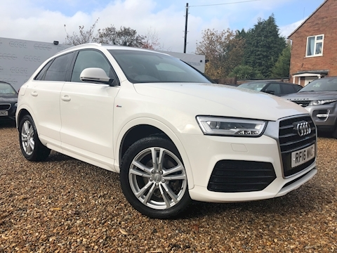 Audi Q3 Tfsi S Line Navigation Estate 1.4 Manual Petrol