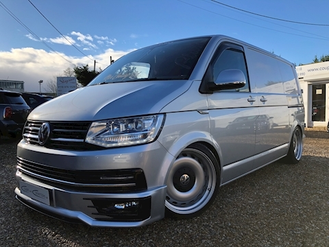 Volkswagen Transporter T28 Tdi P/V Highline Bmt Van With Side Windows 2.0 Manual Diesel