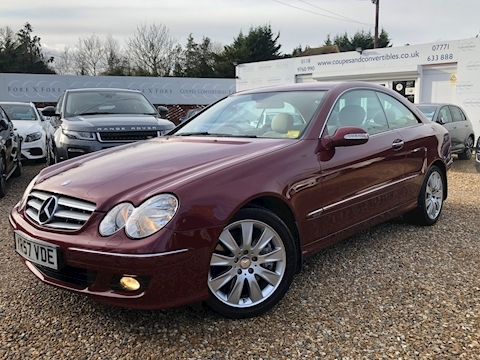 Mercedes Clk Clk320 Cdi Elegance Coupe 3.0 Automatic Diesel