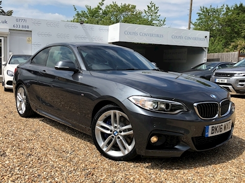 Bmw 2 Series 228I M Sport Coupe 2.0 Automatic Petrol
