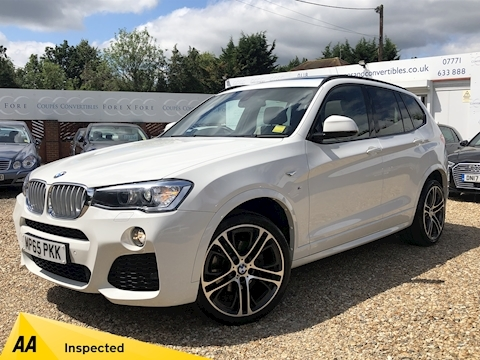 Bmw X3 Xdrive35d M Sport Estate 3.0 Automatic Diesel