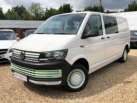 Volkswagen Transporter T32 Tdi Kombi Startline Bmt Van With Side Windows 2.0 Manual Diesel