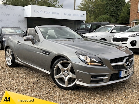 Mercedes-Benz Slk Slk200 Blueefficiency Amg Sport Convertible 1.8 Automatic Petrol