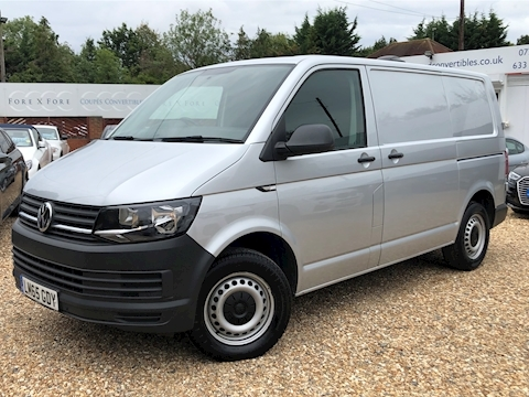 Volkswagen Transporter T28 Tdi P/V Startline Bmt Van With Side Windows 2.0 Automatic Diesel