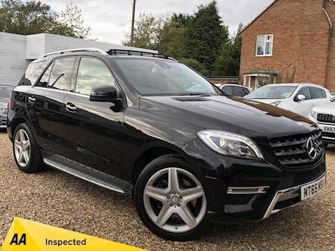 Mercedes-Benz M-Class Ml250 Bluetec Amg Line Premium Plus Estate 2.1 Automatic Diesel